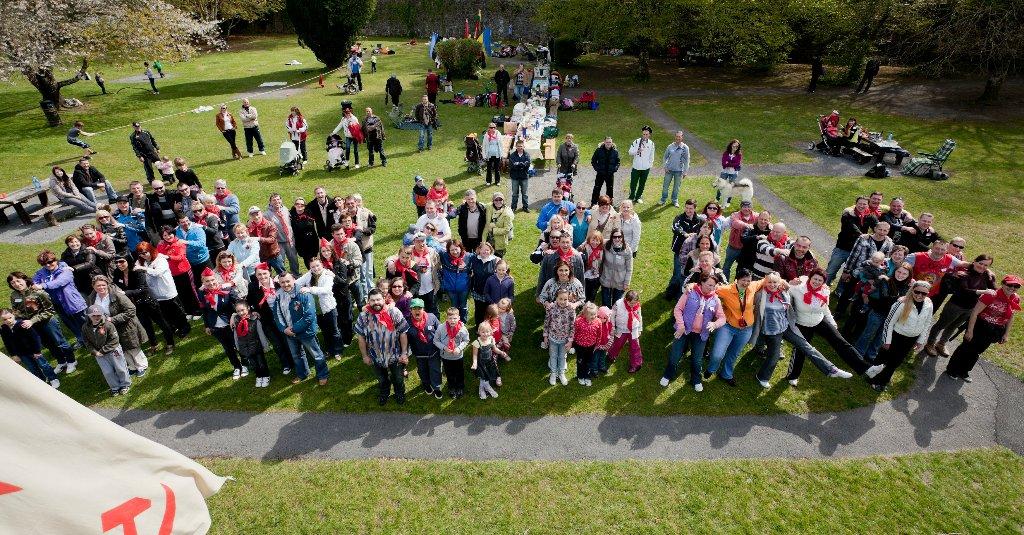 День Победы в Coole Park