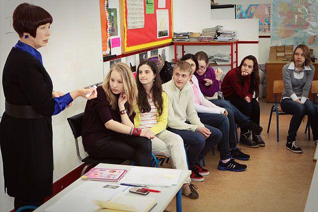 Московские школьники посетили русскую школу в Ирландии