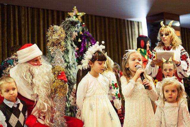 Детские новогодние праздники