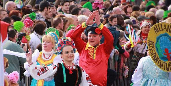 Альянс участвует в параде Святого Патрика